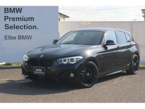 BMW 1シリーズ 118d Mスポーツ エディションシャドー ワンオーナー アップグレードP 黒レザー ACC レーダー Rフィルム ACC 前後PDC 前後ドラレコ タッチパネル シートヒータ 限定車 電動シート