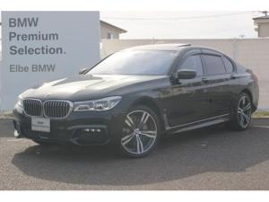 BMW 7シリーズ 740eアイパフォーマンス Mスポーツ ワンオーナー 弊社下取り レーザーライト ハーマンカードン ドラレコ サンルーフ ACC HUD モカブラウンレザー ソフトクローズ ドアバイザー 前後シートヒーター