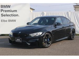 BMW M3 M3 禁煙車 弊社下取り ブラックレザー 車高調(外品) M DCT ドライブロジック アダプティブMサスペンション