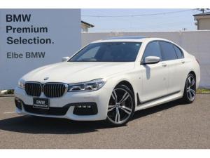 BMW 7シリーズ 740i Mスポーツ ワンオーナー 禁煙車 ブラックレザー サンルーフ HARMAN/KARDON HUD レーザーライトハーマンカードン20AW