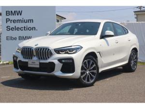 BMW X6 xDrive 35d Mスポーツ デモカー 禁煙車 H&CホルダーソフトクローズMブレーキ 黒レザー HUD 電動ゲート ACC