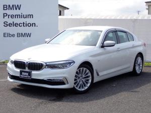 BMW 5シリーズ 523d ラグジュアリー 黒革電動ACC電動ゲートFカメラ地デジ前後シートヒーター アダプティブLED リヤサイドローラーブランド