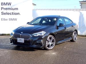 BMW 2シリーズ 218iグランクーペ Mスポーツ パノラマ ACC イルミパネル 前後PDC ナビPKG  18インチAW デモカー禁煙車