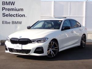 BMW 3シリーズ 320i Mスポーツ ワンオーナー 禁煙車サンルーフMブレーキ黒革電動ACC電動Tブラックキドニー ストレージPKGアダプティブLEDミラーカバーLEDフォグHiFi19インチAW