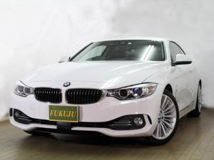 BMW 4シリーズ 420iクーペ ラグジュアリー ブラックレザーシート シートヒーター パワーシート コンフォートアクセス レーダクルーズ 純正HDDナビ Bカメラ フルセグTV インテリジェントセーフティ レーンアシスト スマートキー