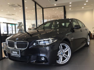 BMW 5シリーズ 523d Mスポーツ ブラックレザーシート レーンチェンジウォーニング アダプティブLEDヘッドライト アクティブクルーズコントロール ヘッドアップディスプレイ 地デジ パドルシフト 障害物センサー 純正ETC