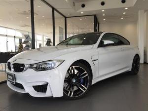 BMW M4 M4クーペ ブラックレザー 19AW アダプティブMサスペンション LEDヘッドライト バックモニター 電動シート スマートキー