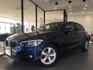 BMW 1シリーズ 118d スポーツ バックカメラ 障害物センサー LEDヘッドライト 純正ミラーETC 純正HDDナビ クルーズコントロール ワンオーナー 衝突被害軽減ブレーキ 純正16インチアルミホイール