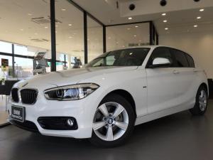 BMW 1シリーズ 118i スポーツ LEDヘッドライト ワンオーナー パーキングサポートPKG バックカメラ 障害物センサー スポーツシート クルーズコントロール マルチファンクションステアリングホイール