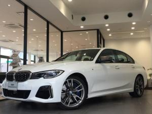 BMW 3シリーズ M340i xDrive ブラックレザーシート 純正19インチアルミホイール パーキングアシストプラス 衝突被害軽減ブレーキ レーザーライト 認定保証 全周囲カメラ 後退アシスト コンフォートアクセス ヘッドアップディスプレイ