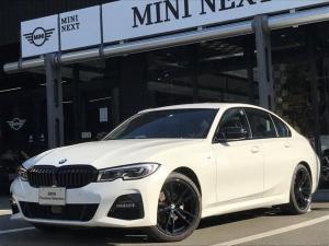 BMW 3シリーズ 320dxDriveMスポーツエディションサンライズ ブラックレザーシート BMWレーザーライト シートヒーター Mスポーツシートベルト スマートキー 衝突被害軽減ブレーキ アクティブクルーズコントロール リバースアシスト 前後PDC パドルシフト