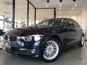 BMW 3シリーズ 320iラグジュアリー HDDナビゲーション バックカメラ キーフリー ブラックレザーシート プッシュスタート ストレージパッケージ レーンチェンジワーニング ミラー型ETC LEDヘッドライト 電動テールゲート ACC