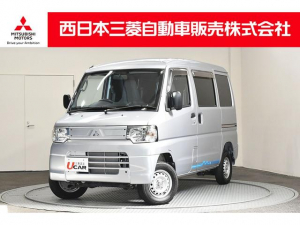三菱 ミニキャブ・ミーブ CD 16.0kwh 4シーター ETC 急速充電 横滑り防止装 リモコンキー 純正AM/FMラジオ