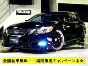レクサス GS GS430・SSR20AW・日章タイヤ車高調・マフラー・本革