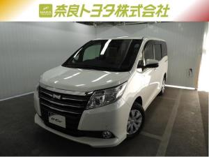 トヨタ ノア X TSS付・メモリーナビ・フルセグTV・バックM・LEDヘッドライト・スマートキー・ワンオーナー・平成28年式・走行距離25000キロ