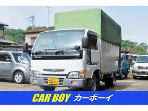 日産 アトラストラック 1.5T積み幌付きAT車 PW キーレス バイザー 足マット
