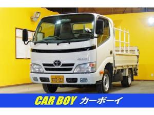 トヨタ ダイナトラック シングルジャストロー 900kg積みPWゲート600kg昇降 PW 片側電動格納式ミラー