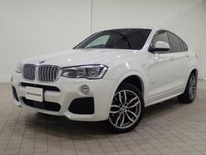 BMW X4 xDrive 28i Mスポーツ アクティブクルーズコントロール・モカレザーシート・LEDヘッドライト・純正HDDナビ・バックカメラ・Bluetooth・衝突軽減ブレーキ・電動シートシートヒーター・ETC・F26・