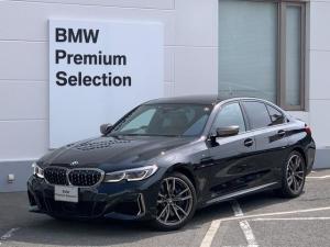 BMW 3シリーズ M340i xDrive認定保証弊社デモカーコニャック革