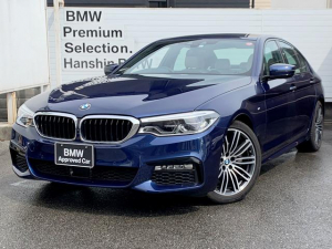 BMW 5シリーズ 523iMスポーツ認定保証アイボリーレザーACCLEDライト