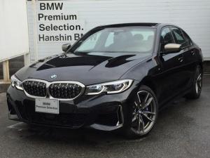 BMW 3シリーズ M340ixDrive弊社デモカー左Hレーザーライト黒レザー