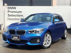 BMW 1シリーズ 118i Mスポーツパーキングサポ-トLEDヘッド社外レザー