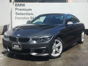 BMW 4シリーズ 420iクーペMスポーツ認定保証コーラルレッド革ACCLED