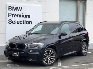 BMW X5 xDrive35dMスポーツSR7人乗LED黒革OP20AW
