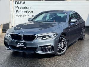 BMW 5シリーズ 523d Mスポーツ 認定保証・ワンオーナー・ACC・LEDヘッドライト・インテリジェントセーフティ・純正HDDナビ・バックカメラ・PDC・純正アルミ・ミラー内蔵ETC・電動シート・電動リアゲート・地デジ・G30