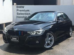 BMW 3シリーズ 320d Mスポーツ ・全国認定保証・後期LCI・アクティブクルーズコントロール・LEDヘッド・純正ナビ・レーンチェンジウォーニング・衝突回避軽減ブレーキ・車線逸脱警告・バックモニター・ミラーETC・SOSコール・F30