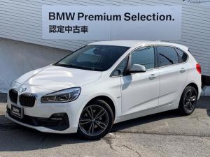 BMW 2シリーズ 218dアクティブツアラー スポーツ アドバンスドアクティブセーフテイ・ヘッドアップディスプレイ・バックカメラ・パーキングサポート・シートヒーター・コンフォートパッケージ・電動デールゲート・スマートキー・LEDヘッドライト