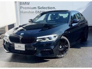 BMW 5シリーズ 523d Mスポーツ ミッショインポッシブル・認定保証・ブラックキドニーグリル・ブラックトリム・ACC・LED・純正HDDナビ・Bカメラ・PDC・地デジ・電動シート・電動リアゲート・純正19AW・Dアシスト・ETC・G30