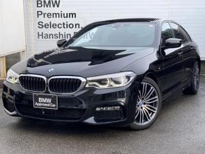 BMW 5シリーズ 523d Mスポーツ 認定保証・純正HDDナビ・Bカメラ・PDC・地デジ・LEDヘッドライト・ACC・パドルシフト・インテリジェントセーフティ・コンフォートアクセス・電動シート・電動リアゲート・純正19AW・ETC・G30