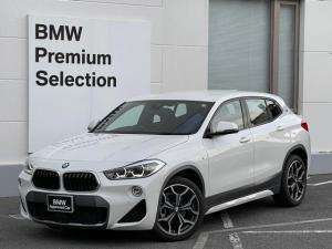 BMW X2 sDrive 18i MスポーツX 認定保証・ACC・ヘッドアップディスプレイ・モカレザーシート・電動シート・純正19AW・純正HDDナビ・バックカメラ・PDC・衝突軽減ブレーキ・車線逸脱警告システム・ミラーETC・LEDライト・F39