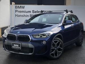 BMW X2 xDrive 18d MスポーツX ハイラインパック 認定保証・ACC・ヘッドアップディスプレイ・LEDライト・シートヒーター・衝突軽減ブレーキ・車線逸脱警告・純正HDDナビ・バックカメラ・電動テールゲートフロント・リアPDC・Bluetooth・F39