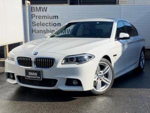 BMW 5シリーズ 523d Mスポーツ 認定保証・ブラックレザーシート・シートヒーター・LEDライト・純正HDDナビ・バックカメラ・PDC・地デジ・純正18AW・電動シート・衝突軽減ブレーキ・車線逸脱警告システム・ミラー内蔵ETC・F10
