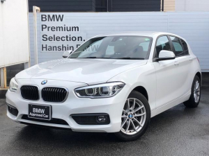 BMW 1シリーズ 118i ・認定保証・LEDヘッドライト・純正HDDナビ・バックカメラ・フロント・リアPDC・ミュージックサーバー・Bluetooth・CD・DVD再生・ミラーETC・パーキングサポートパッケージ・F20