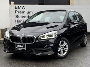 BMW 2シリーズ 218iアクティブツアラー 認定保証・後期モデル・プラスパッケージ・コンフォートパッケージ・純正HDDナビ・バックカメラ・PDC・純正アルミ・衝突軽減ブレーキ・車線逸脱警告システム・ミラーETC・LEDライト・Bluetooth
