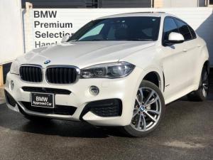 BMW X6 xDrive 35i Mスポーツ ・全国認定保証・1オ-ナ-・セレクトPKG・サンルーフ・純正20AW・ハーマンカードンスピーカ・純正HDDナビ全周囲カメラ・地デジ・LEDヘッドライト・ミラーETC・衝突軽減ブレーキ・F16