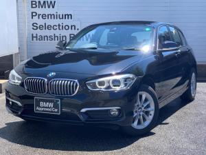 BMW 1シリーズ 118d スタイル 認定保証・コンフォートパッケージ・アドバンスドパーキングサポート・LEDヘッドライト・インテリジェントセーフティ・コンフォートアクセス・純正HDDナビ・バックカメラ・前後センサー・純正16AW・F20