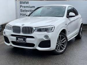 BMW X4 xDrive 35i Mスポーツ 認定保証・ブラウンレザーシート・シートヒーター・電動シート・電動リアゲート・純正HDDナビ・バックカメラ・PDC・純正アルミ・ヘッドアップディスプレイ・ACC・LED・ETC・ドライビングアシスト