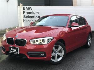 BMW 1シリーズ 118d スポーツ 認定保証・ワンオーナー・コンフォートアクセス・シートヒーター・独立エアコン・純正HDDナビ・バックカメラ・PDC・純正アルミ・LEDライト・衝突軽減ブレーキ・車線逸脱警告システム・ETC・フォグライト