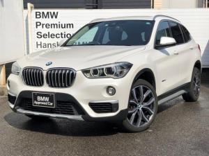 BMW X1 xDrive 18d xライン 認定保証 ワンオーナー アーバニスタ210台限定車 ACC ヘッドアップD 黒レザー シートヒータ LEDヘッドライト 純正HDDナビ バックカメラ Bluetooth 電動トランクミラーETCF48