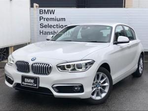 BMW 1シリーズ 118d スタイル ・認定保証・パーキングサポート・バックカメラ・LEDヘッドライト・コンフォートパッケージ・衝突軽減ブレーキ・車線逸脱警告・コンフォートアクセス・純正HDDナビ・バックカメラ・PDC・DVD再生・F20