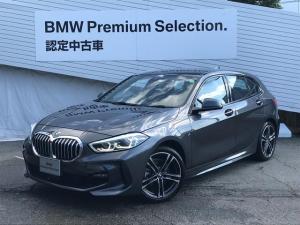 BMW 1シリーズ 118d Mスポーツ エディションジョイ+ ・認定保証・LEDヘッドライト・インテリジェントセーフティ・レーンチェンジウォーニング・・後退アシスト・運転席電動シート・バックモニター・純正ナビ・オートハイビーム・ミラーETC・SOSコール・F40