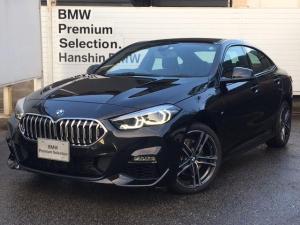 BMW 2シリーズ 218iグランクーペ Mスポーツ 弊社元デモカー HDDナビ ACC ライブコクピット 後退アシスト 運転席側電動シート レーンチェンジウォーニング バックカメラ アンビエントライト ワイヤレス充電 オートハイビーム LED 18AW