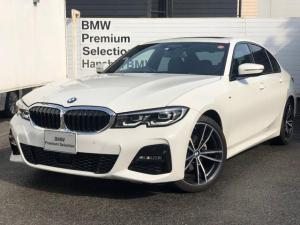 BMW 3シリーズ 320i Mスポーツ 認定保証・サンルーフ・デビューパッケージ・ブラックレザー・シートヒーター・純正19AW・LED・ACC・純正HDDナビ・Bカメラ・PDC・電動シート・電動リアゲート・コンフォートアクセス・Dアシスト