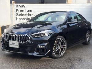 BMW 2シリーズ 218iグランクーペ Mスポーツ 弊社元デモカー・全国認定保証・ヘッドアップディスプレイ・純正HDDナビ・バックカメラ・Bluetooth・ミュージックサーバ・ミラーETC・運転席電動シート・衝突被害軽減ブレーキ・車線逸脱警告・F44