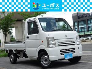 スズキ キャリイトラック KCエアコン・パワステ・4WD・1オーナー・5MT・三方開