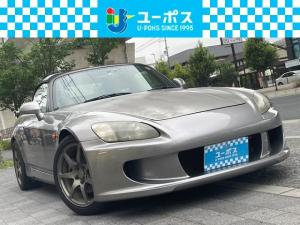 ホンダ S2000 ベースグレード 追加メーター 車高調 外マフラー フルバケットシート